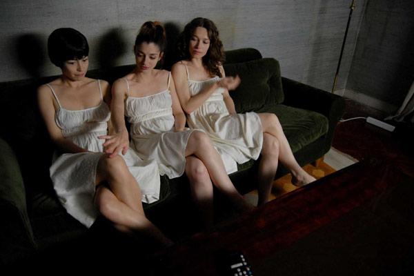 Foto Benoît Cohen, Eléonore Pourriat, Emmanuelle Destremau, Gaela Le Devehat
