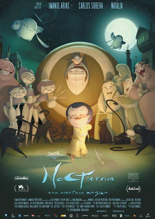 Nocturna, una aventura mágica : Cartel