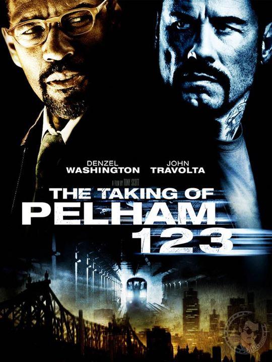 Asalto al tren Pelham 123 : Cartel Tony Scott