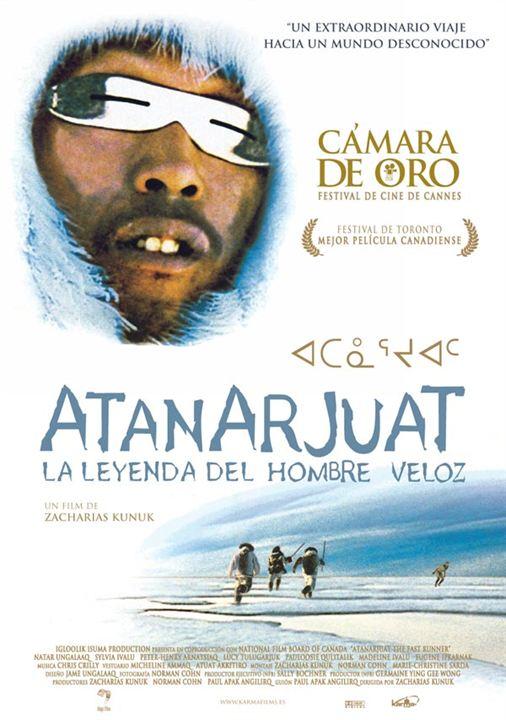 Atanarjuat, la leyenda del Hombre Veloz : cartel