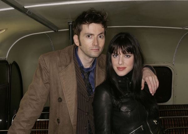 Doctor Who (2005) : Foto David Tennant, Michelle Ryan