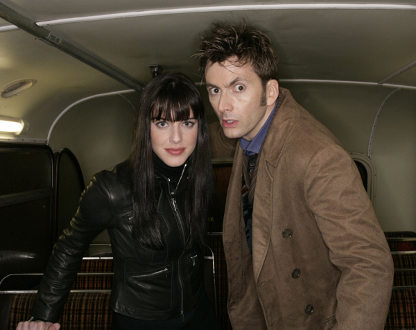 Doctor Who (2005) : Foto David Tennant, Michelle Ryan