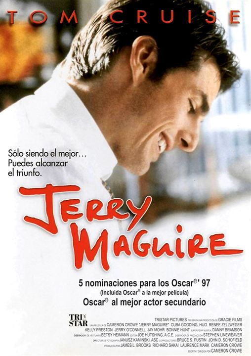 Jerry Maguire : Cartel