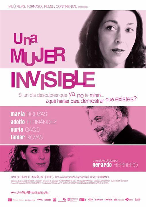 Una mujer invisible : Cartel