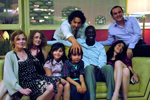 Foto Audrey Dana, François-Xavier Demaison, Isabelle Carré, Joséphine de Meaux, Max Clavelly