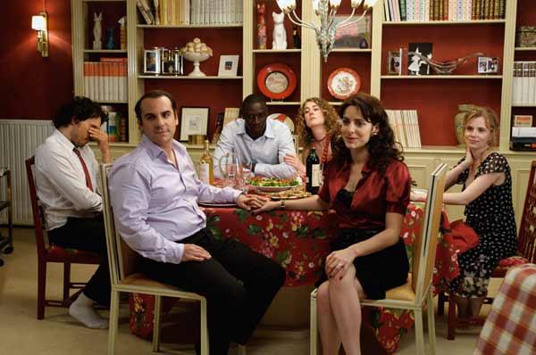 Foto Audrey Dana, François-Xavier Demaison, Isabelle Carré, Joséphine de Meaux, Omar Sy