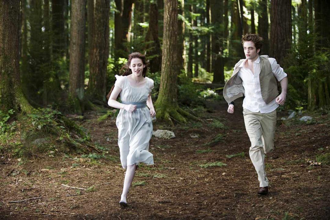 La saga Crepúsculo: Luna nueva : Foto Kristen Stewart, Robert Pattinson, Stephenie Meyer