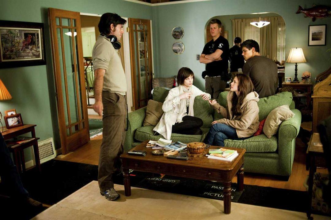La saga Crepúsculo: Luna nueva : Foto Ashley Greene, Chris Weitz, Kristen Stewart, Stephenie Meyer, Taylor Lautner
