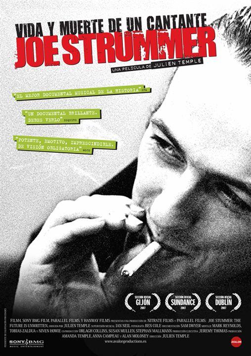 Joe Strummer: Vida y muerte de un cantante : Cartel