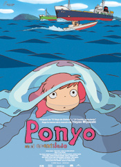 Ponyo en el acantilado : Cartel