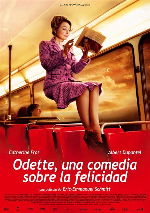 Odette, una comedia sobre la felicidad : cartel