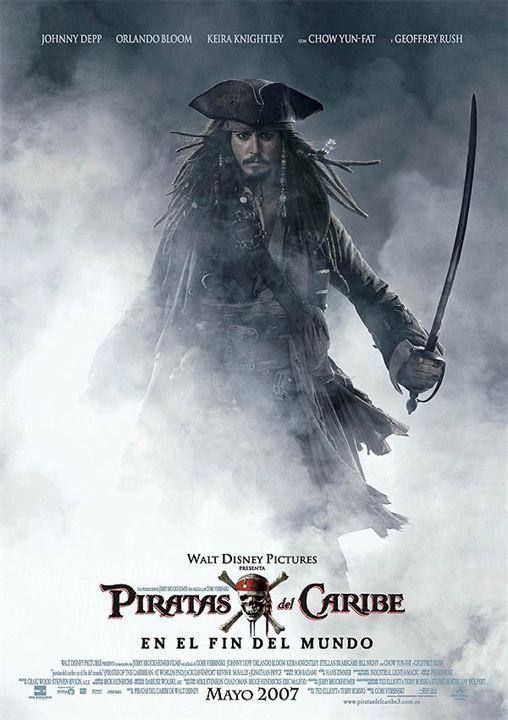 Piratas del Caribe: En el fin del mundo : Cartel