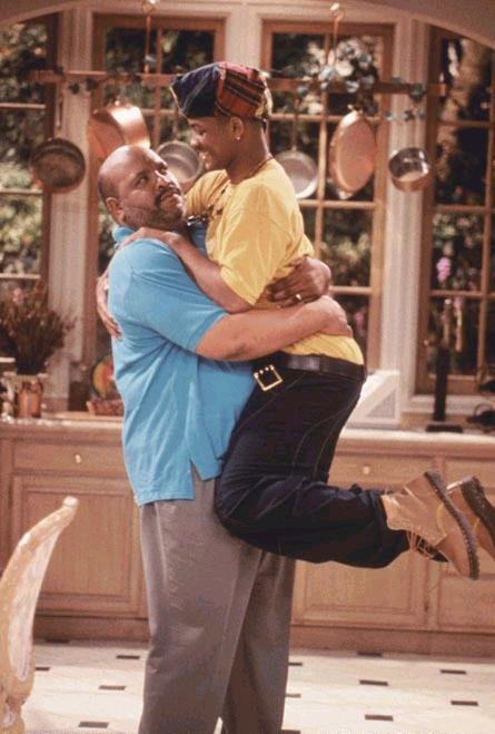 El Príncipe de Bel-Air : Foto James Avery, Will Smith