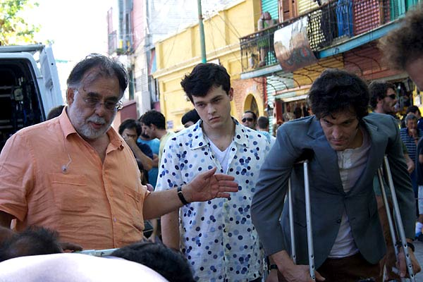 Tetro : Foto Alden Ehrenreich, Francis Ford Coppola, Vincent Gallo