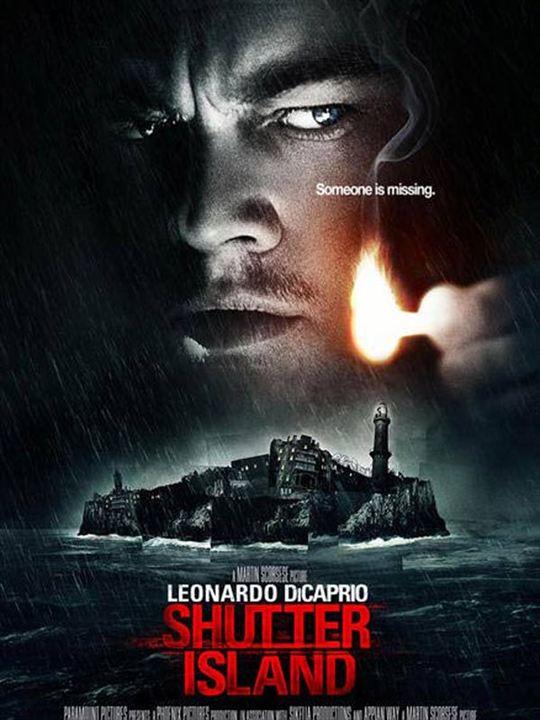 Shutter Island : Cartel Leonardo DiCaprio, Martin Scorsese