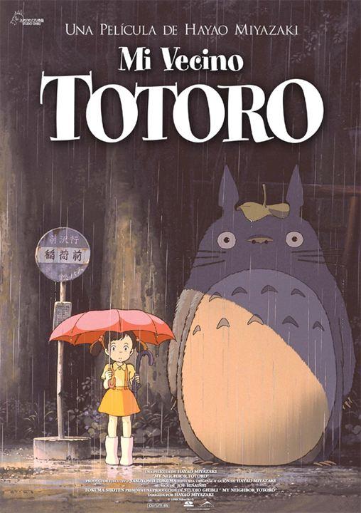 Mi vecino Totoro : Cartel