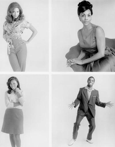 A tres bandas : Foto Gregory Nava, Halle Berry, Larenz Tate, Lela Rochon, Vivica A. Fox