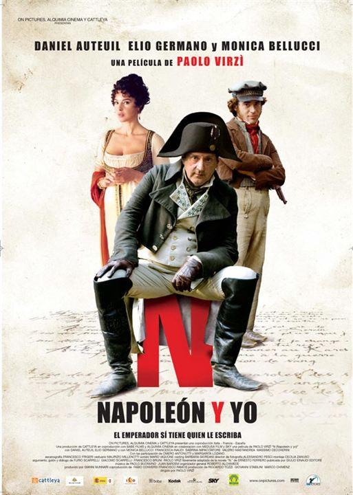 """""""N"""" Napoleón y yo : Cartel"""