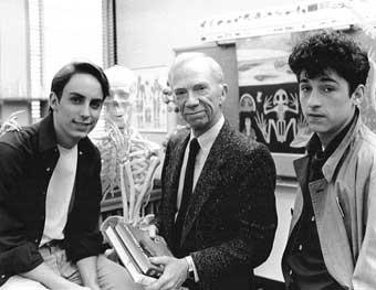 Foto Patrick Dempsey, Ray Walston, Wallace Langham