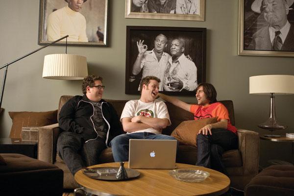 Hazme reír : Foto Jason Schwartzman, Jonah Hill, Seth Rogen