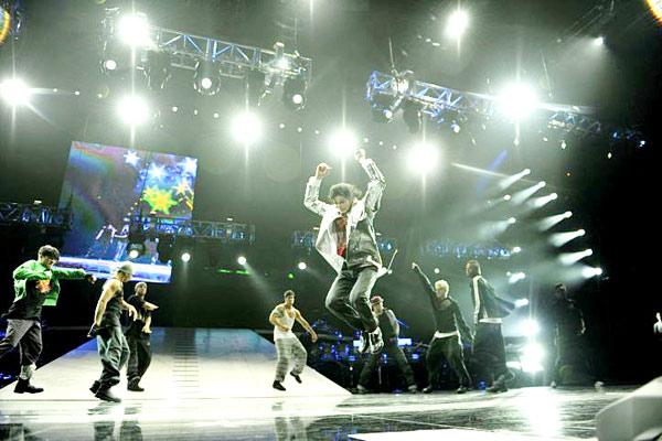 Michael Jackson's This Is It : Foto Kenny Ortega, Michael Jackson