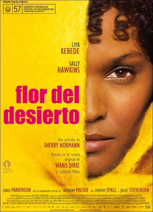 Flor del desierto : cartel