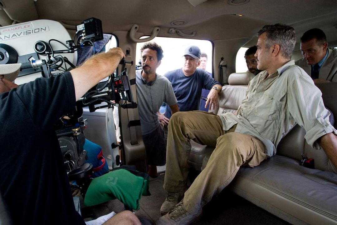 Los hombres que miraban fijamente a las cabras : Foto George Clooney, Grant Heslov
