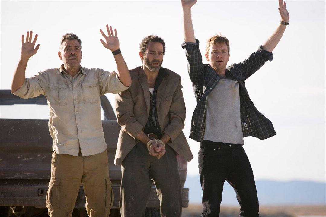 Los hombres que miraban fijamente a las cabras : Foto Ewan McGregor, George Clooney, Grant Heslov, Waleed Zuaiter