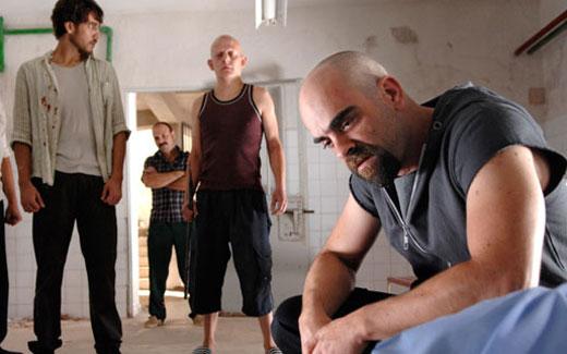 Celda 211 : Foto Alberto Ammann, Daniel Monzón, Luis Tosar