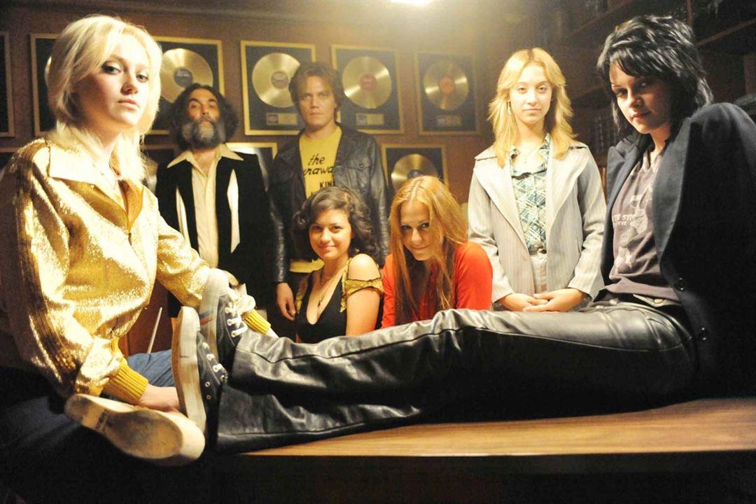 The Runaways : Foto Alia Shawkat, Dakota Fanning, Floria Sigismondi, Kristen Stewart, Michael Shannon