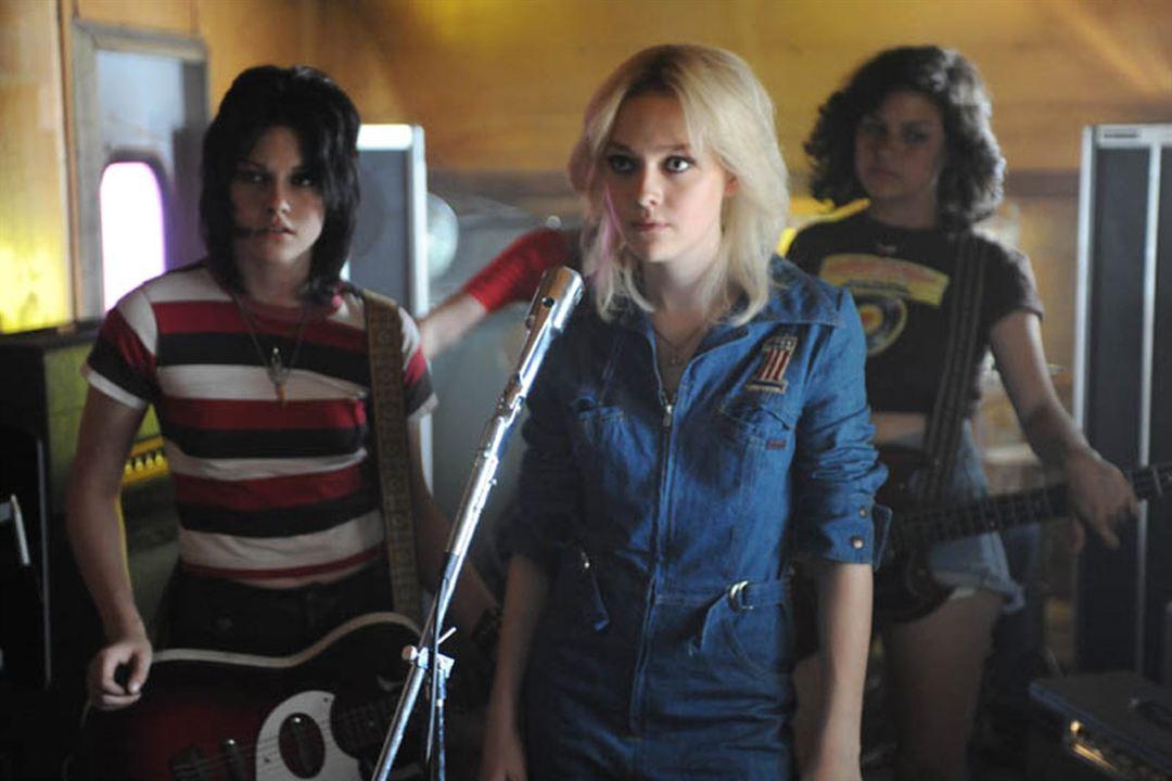 The Runaways : Foto Alia Shawkat, Dakota Fanning, Floria Sigismondi, Kristen Stewart