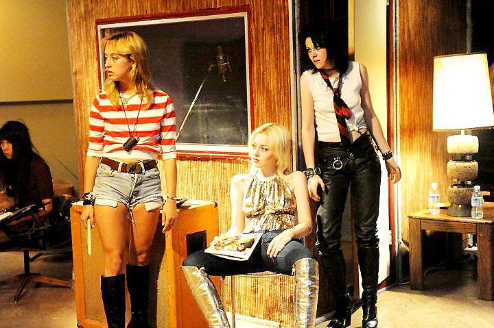 The Runaways : Foto Dakota Fanning, Floria Sigismondi, Kristen Stewart, Stella Maeve