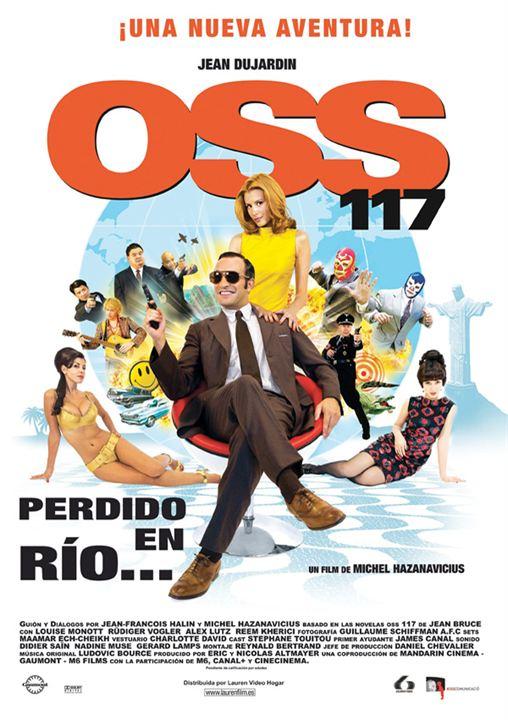 OSS 117: Perdido en Río : Cartel