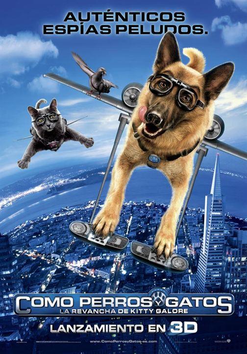 Como perros y gatos: La revancha de Kitty Galore : cartel