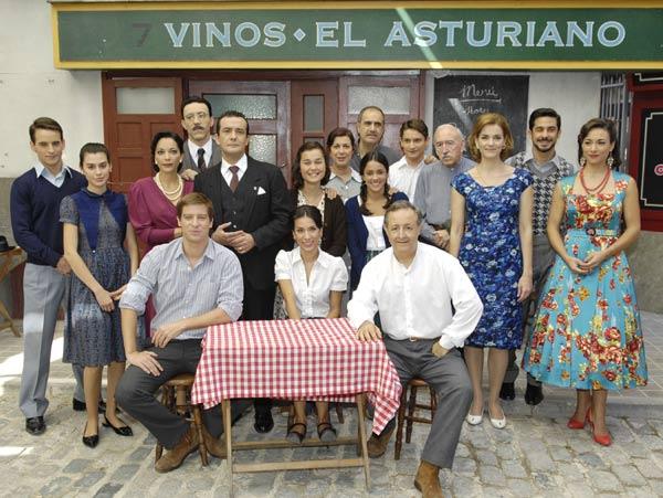 Amar en tiempos revueltos : Foto Cristina Plazas, Isabel Serrano, Itziar Miranda, Joaquín Climent, José Antonio Sayagués
