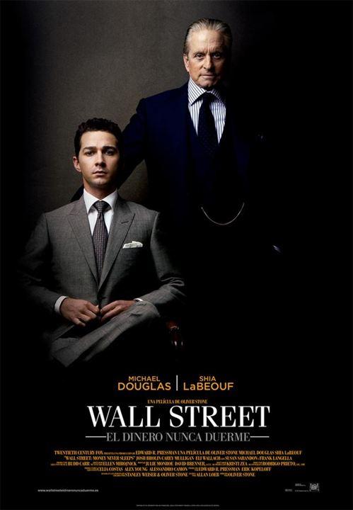 Wall Street: El dinero nunca duerme : cartel