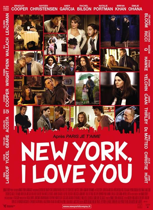New York, I Love You : Cartel
