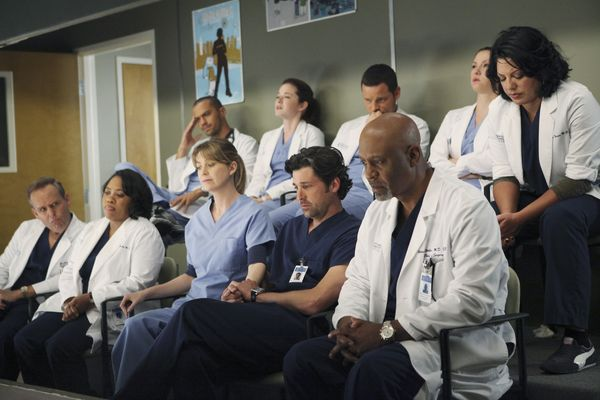 Anatomía de Grey : Foto Chandra Wilson, Chyler Leigh, Ellen Pompeo, James Pickens Jr., Jesse Williams
