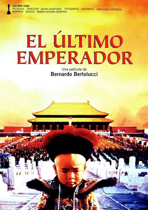 El último emperador : Cartel