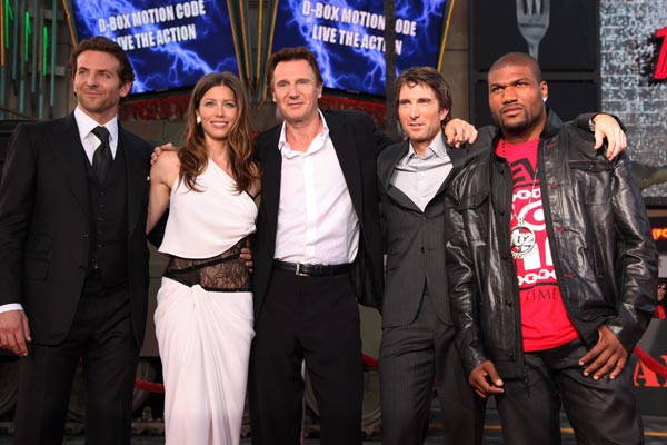 El equipo A : Foto Bradley Cooper, Jessica Biel, Liam Neeson, Sharlto Copley