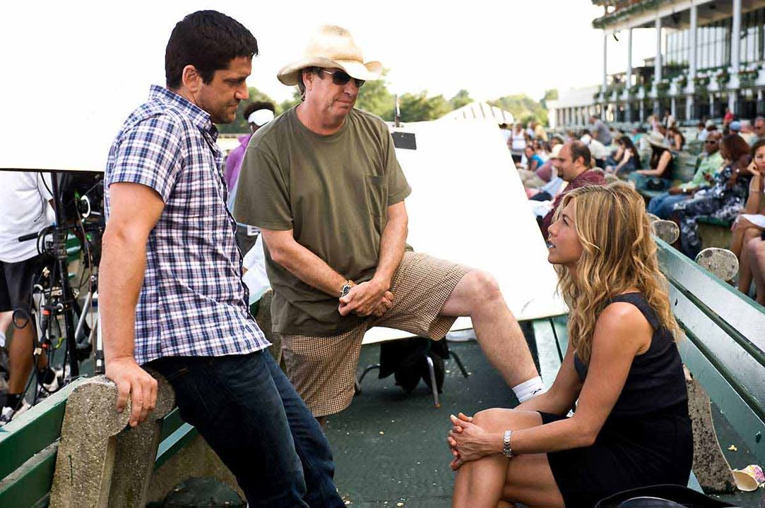 Ex posados : Foto Andy Tennant, Gerard Butler, Jennifer Aniston