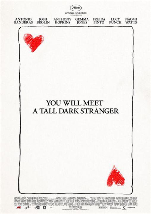 Conocerás al hombre de tus sueños : cartel