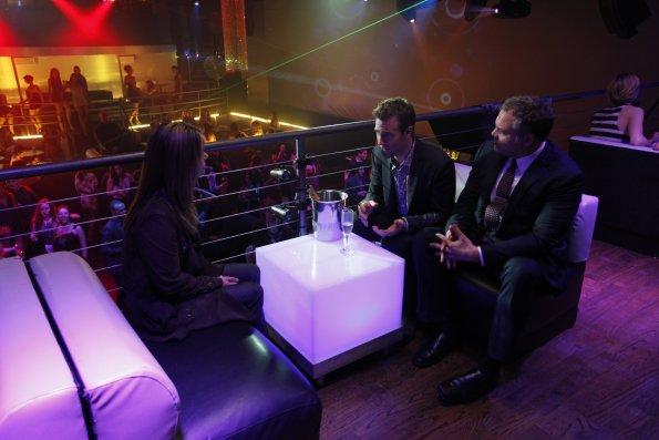 Foto James Van Der Beek, Kathryn Erbe, Vincent D'Onofrio