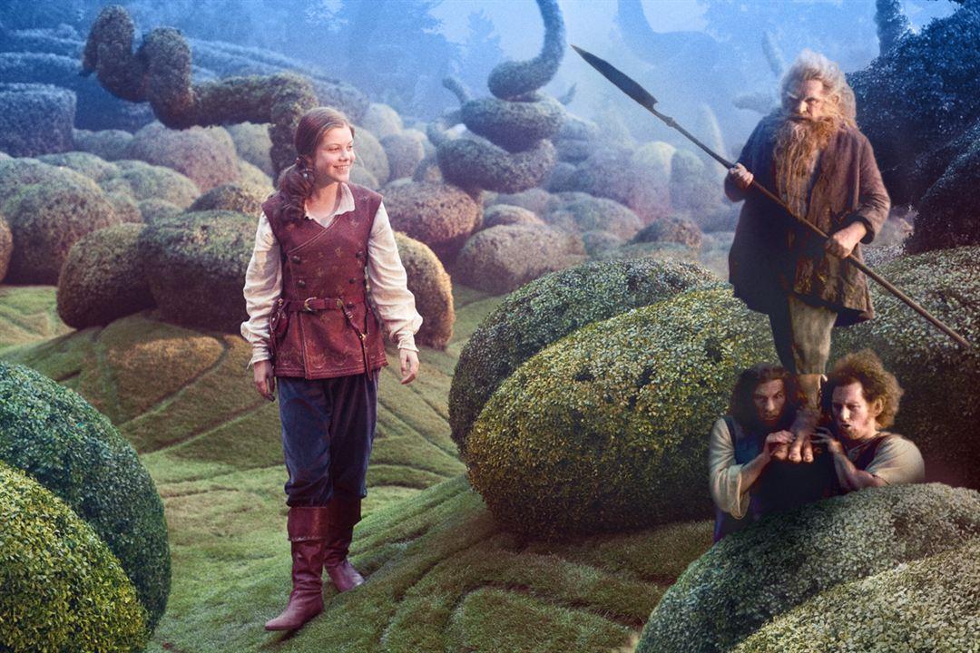 Las Crónicas de Narnia: La travesía del viajero del Alba : Foto Georgie Henley, Michael Apted