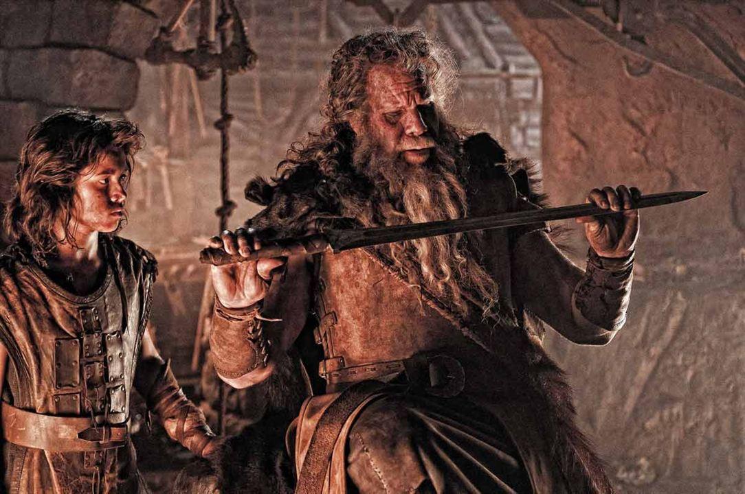 Conan el bárbaro : Foto Leo Howard, Marcus Nispel, Ron Perlman