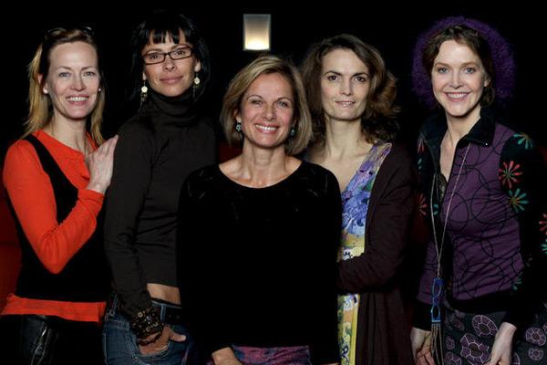 Foto Agnès Soral, Daniel Lainé, Gabrielle Lazure, Mathilda May, Valérie Stroh