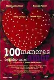 100 maneras de acabar con el amor : Cartel