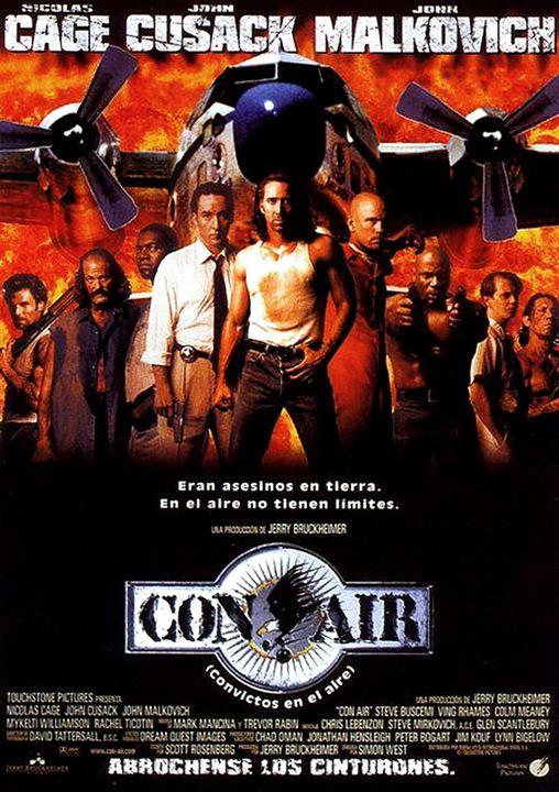 Con Air (Convictos en el aire) : Cartel
