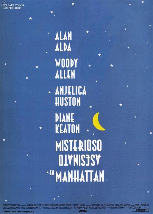 Cartel de Misterioso asesinato en Manhattan - Poster 1 - SensaCine.com
