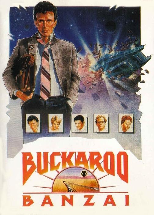 Las aventuras de Buckaroo Banzai a través de la octava dimensión : Cartel